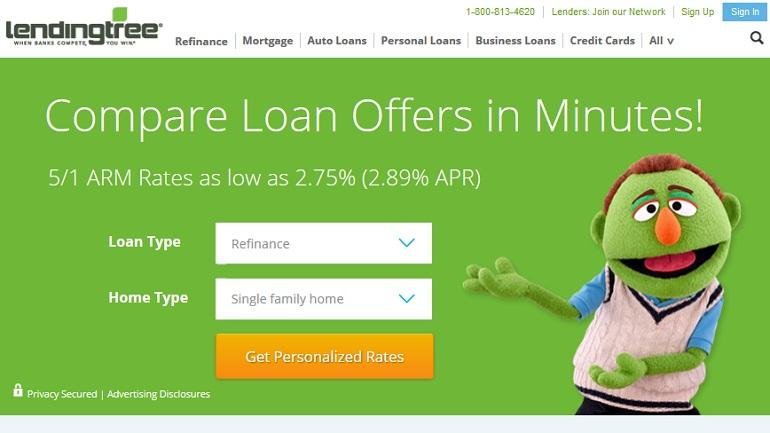 lending tree mortgage loans