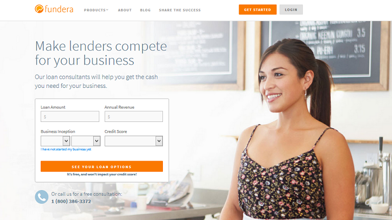 fundera small business loans