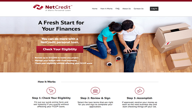 bad credit loans with netcredit